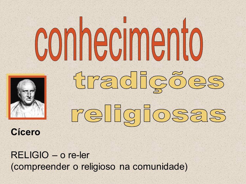 Cícero RELIGIO – o re-ler (compreender o religioso na comunidade)