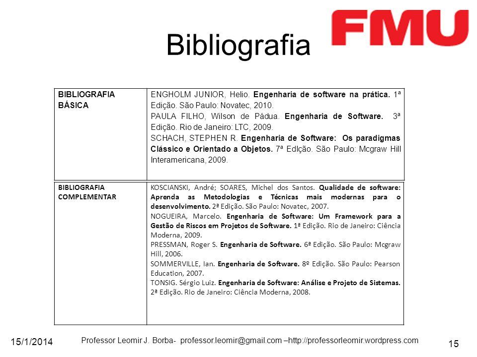 Bibliografia 25/03/2017 BIBLIOGRAFIA BÁSICA