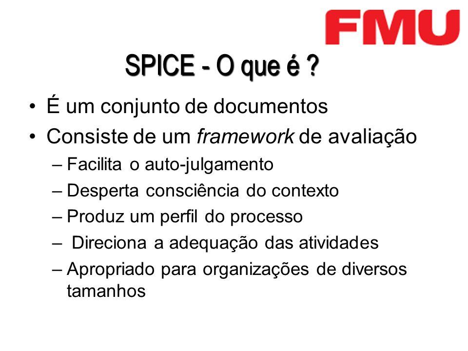 SPICE - O que é É um conjunto de documentos