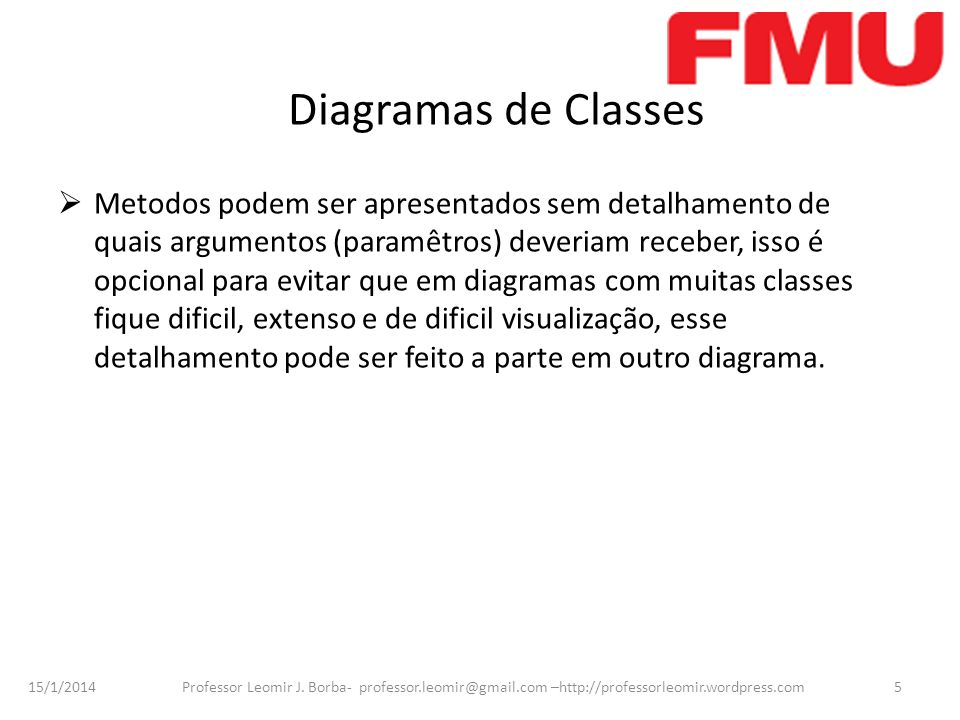 Diagramas de Classes