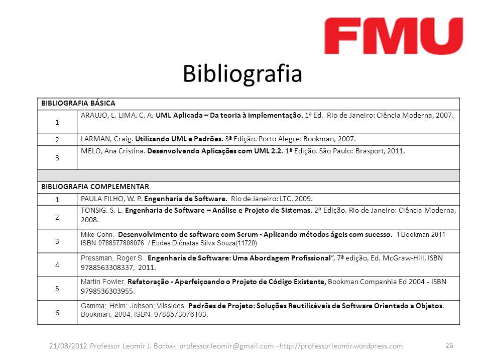 Bibliografia BIBLIOGRAFIA BÁSICA 1