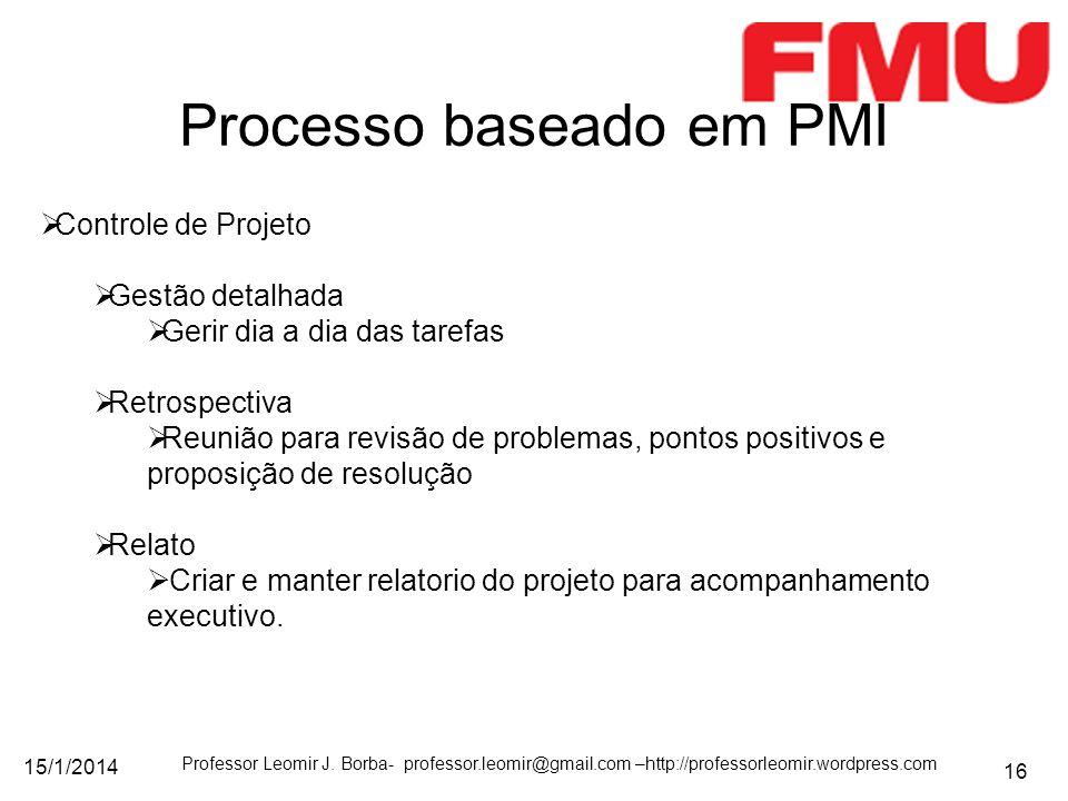 Processo baseado em PMI