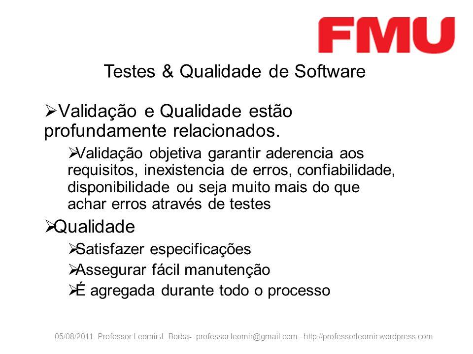 Testes & Qualidade de Software