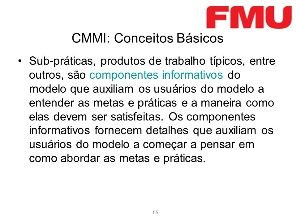 CMMI: Conceitos Básicos