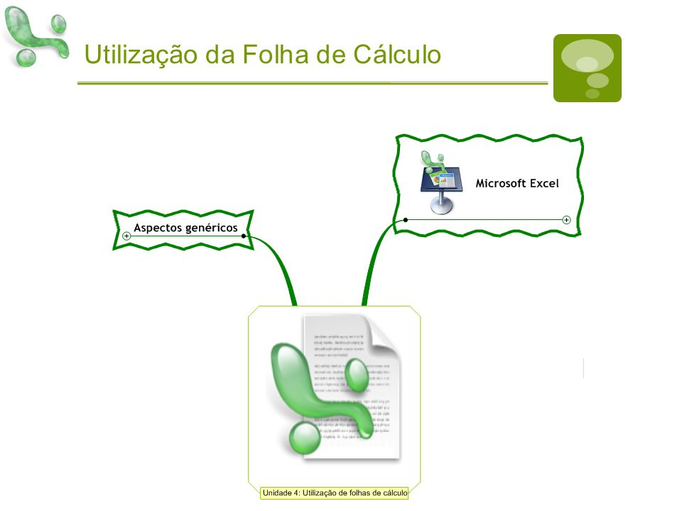 Utilização da Folha de Cálculo
