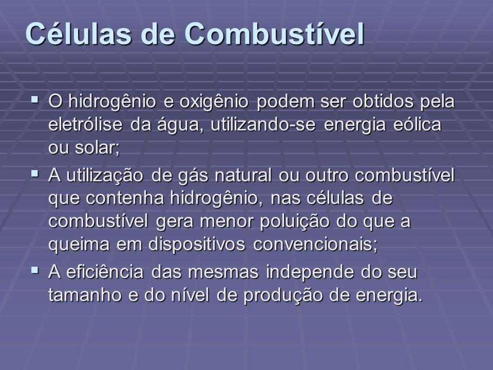 Células de Combustível