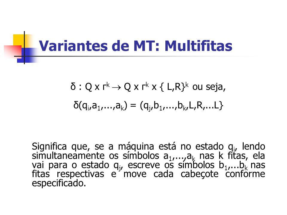 Variantes de MT: Multifitas