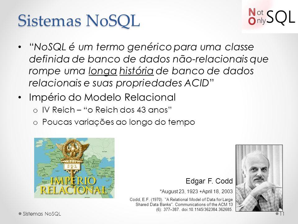 Sistemas NoSQL