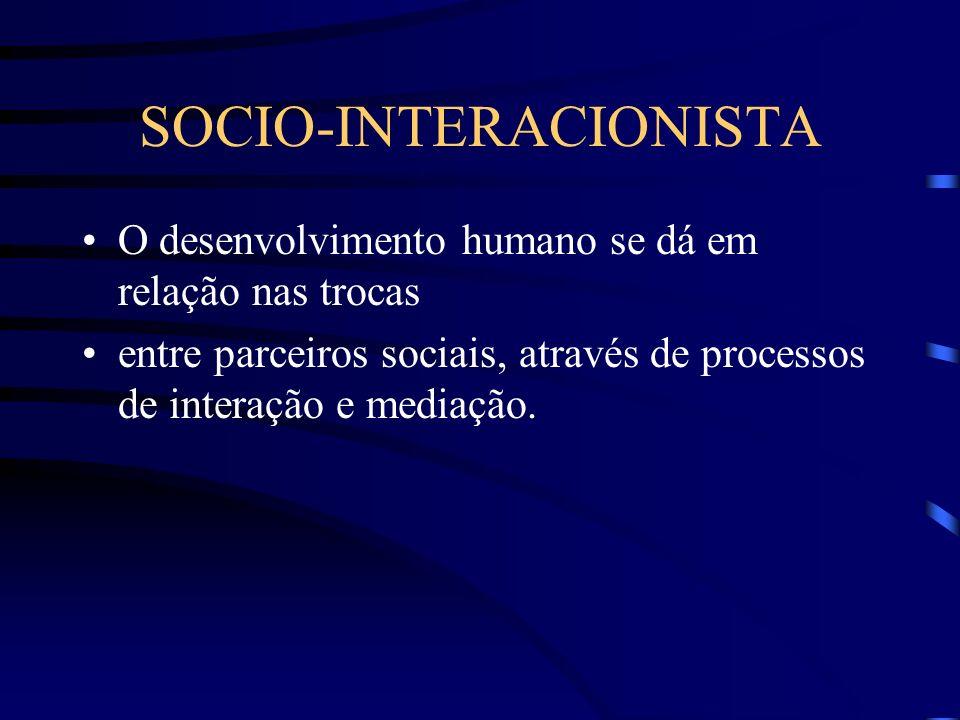 SOCIO-INTERACIONISTA