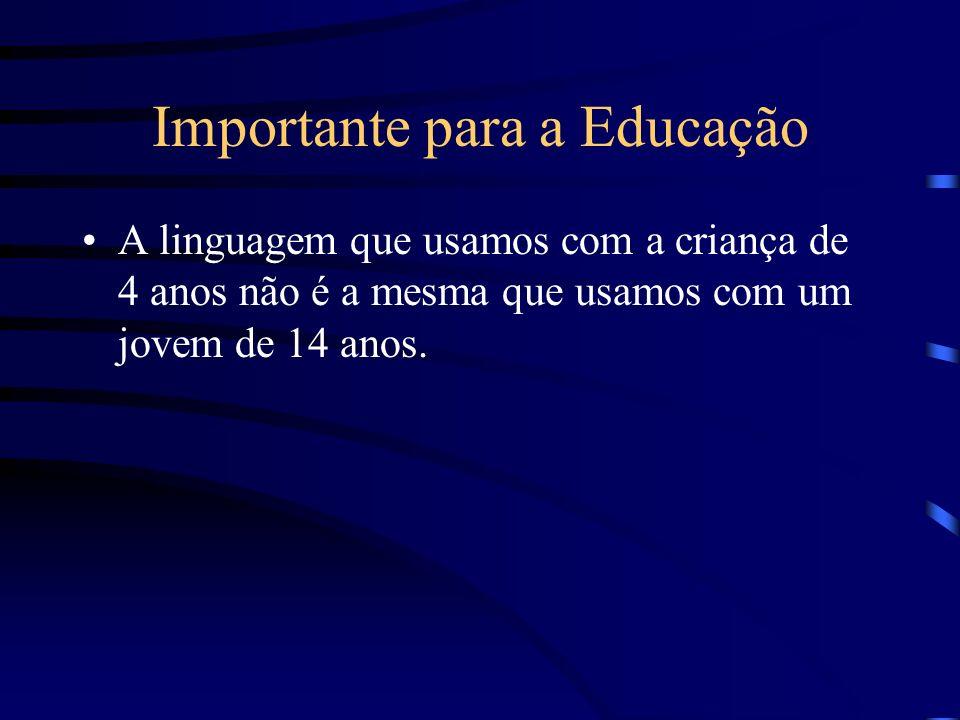 Importante para a Educação