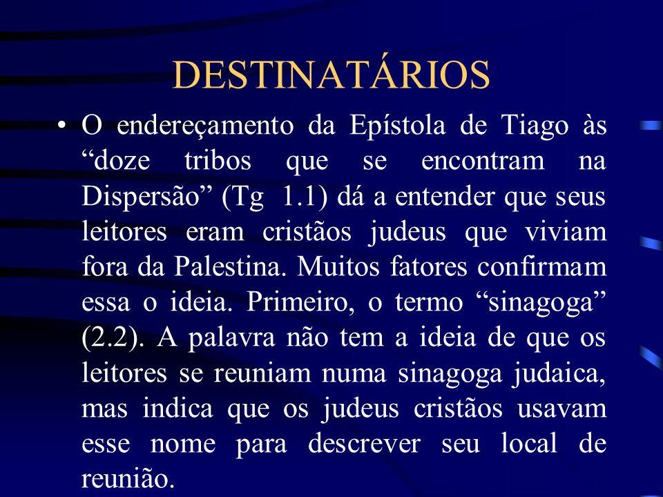 DESTINATÁRIOS