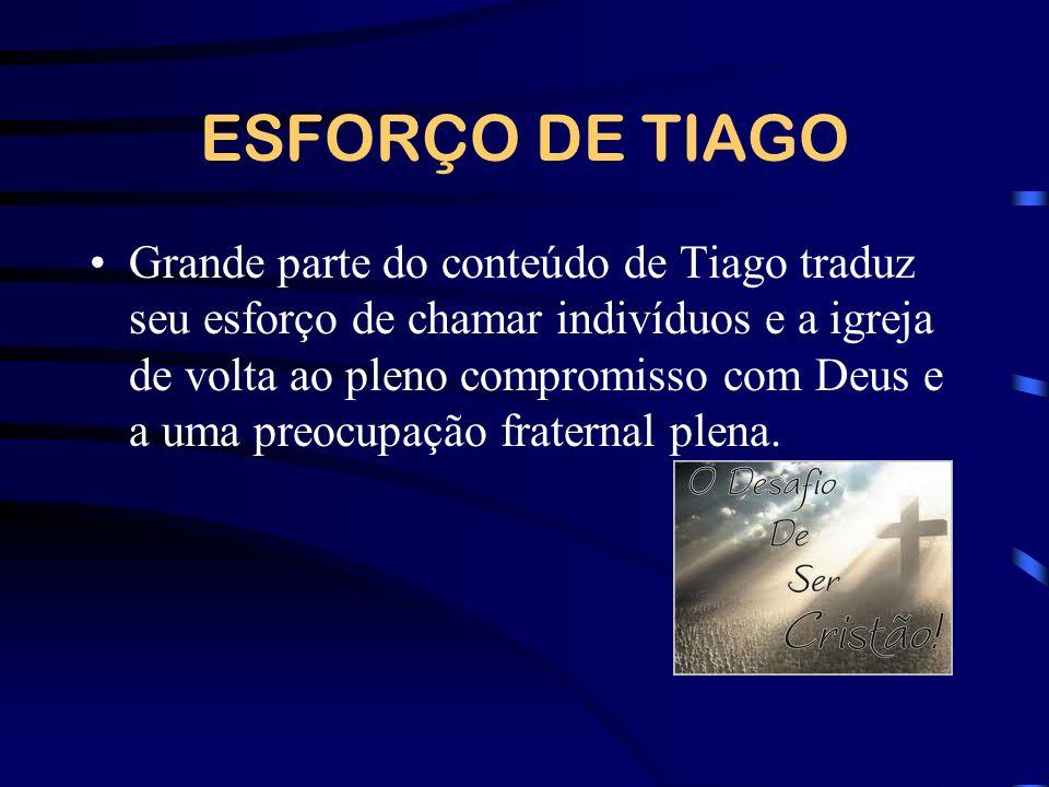 ESFORÇO DE TIAGO