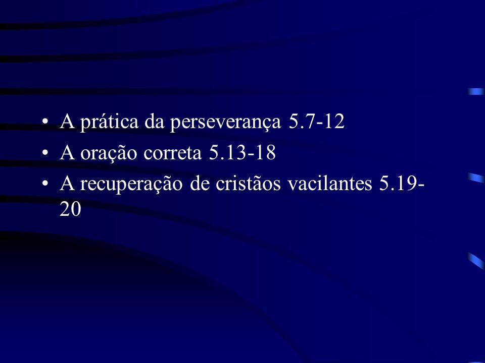 A prática da perseverança 5.7-12
