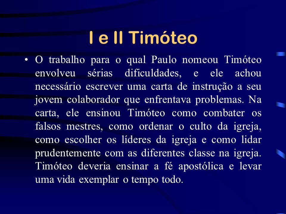 I e II Timóteo