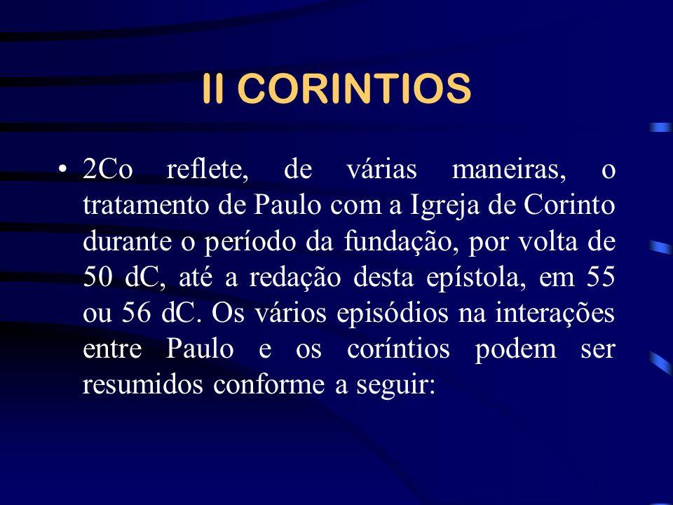 II CORINTIOS