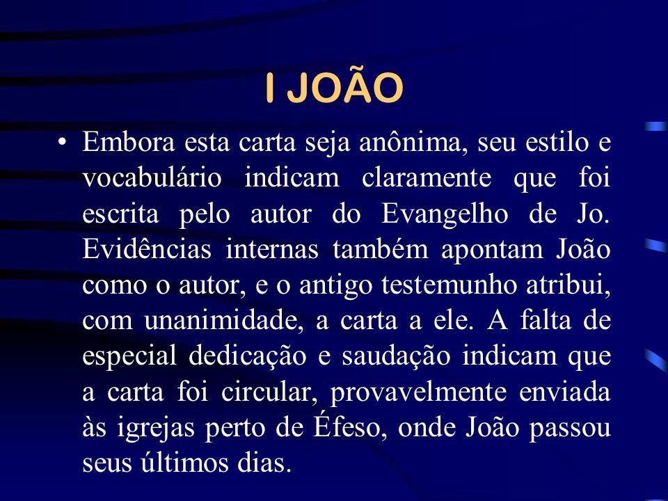 I JOÃO