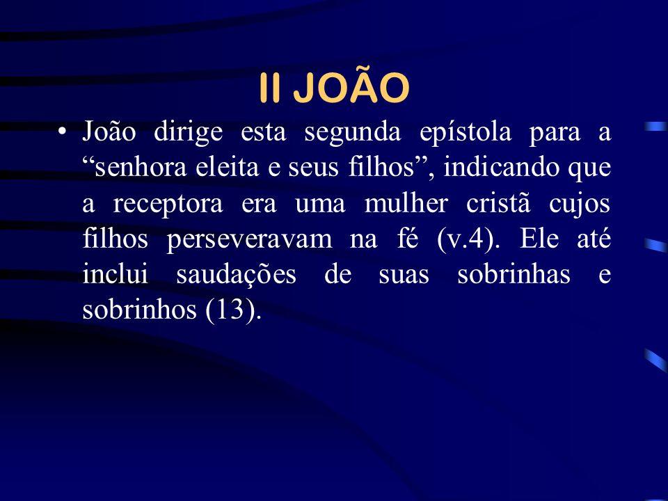 II JOÃO