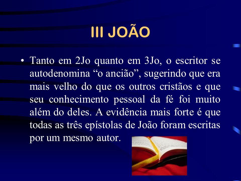 III JOÃO