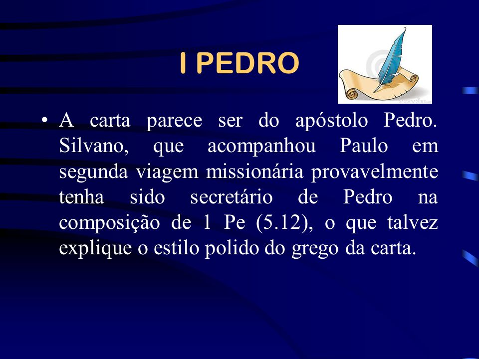 I PEDRO