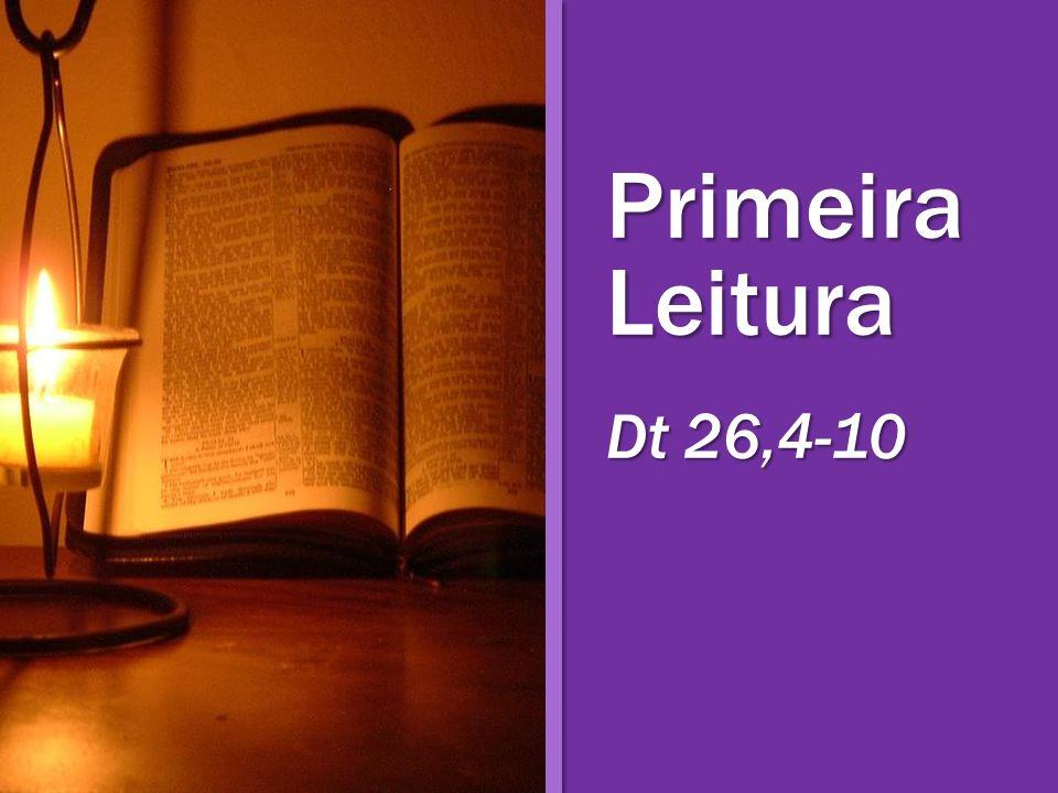 Primeira Leitura Dt 26,4-10
