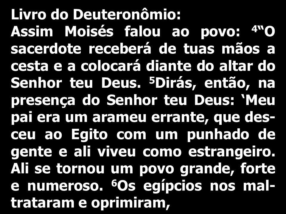 Livro do Deuteronômio: