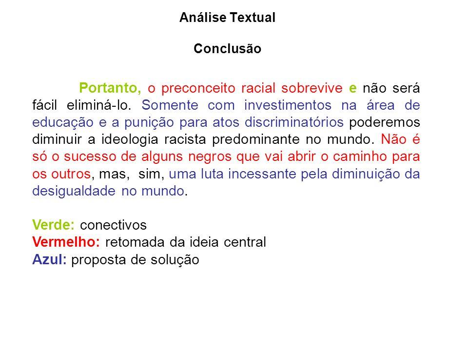 Análise Textual Conclusão