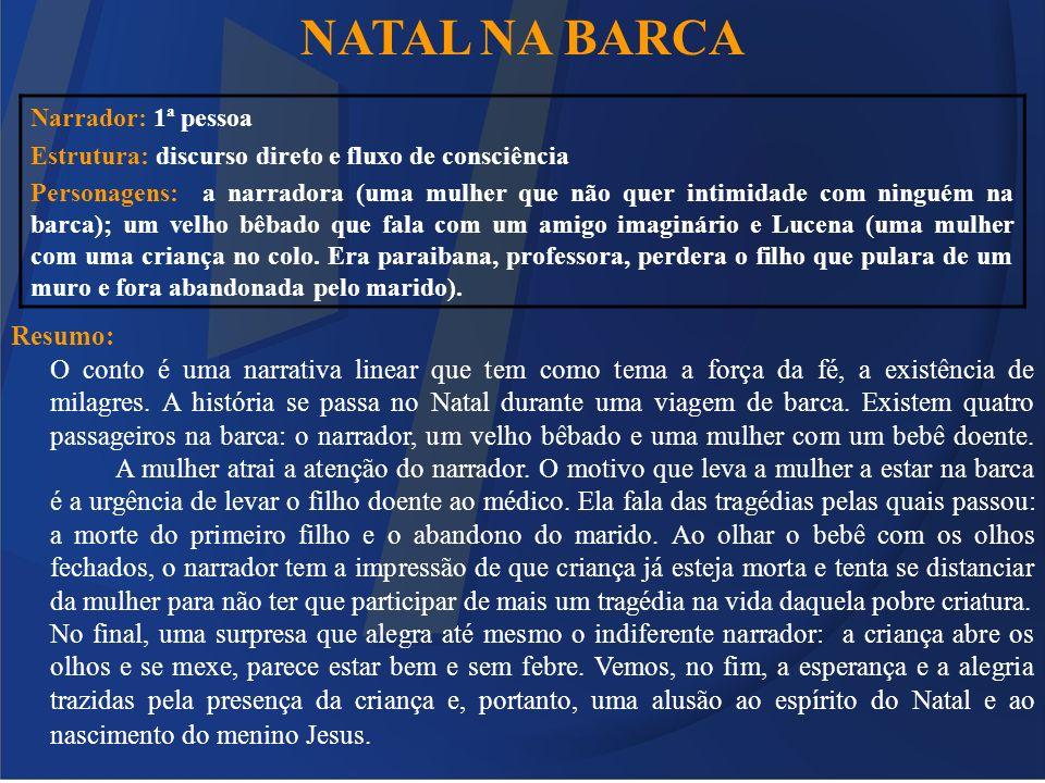 NATAL NA BARCA Resumo: