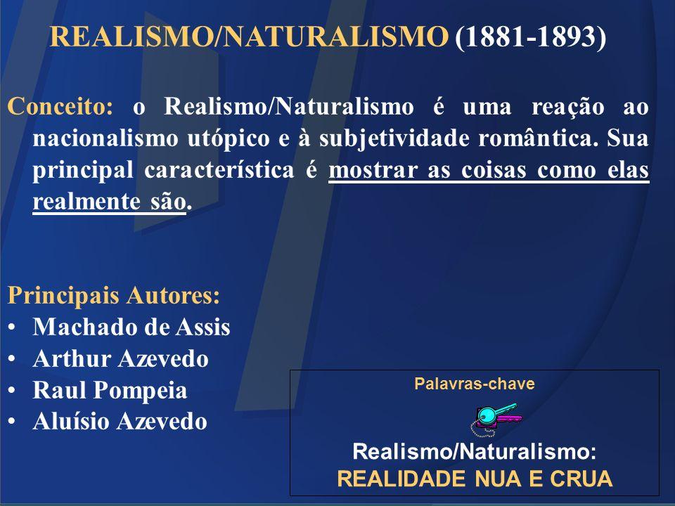 REALISMO/NATURALISMO (1881-1893)
