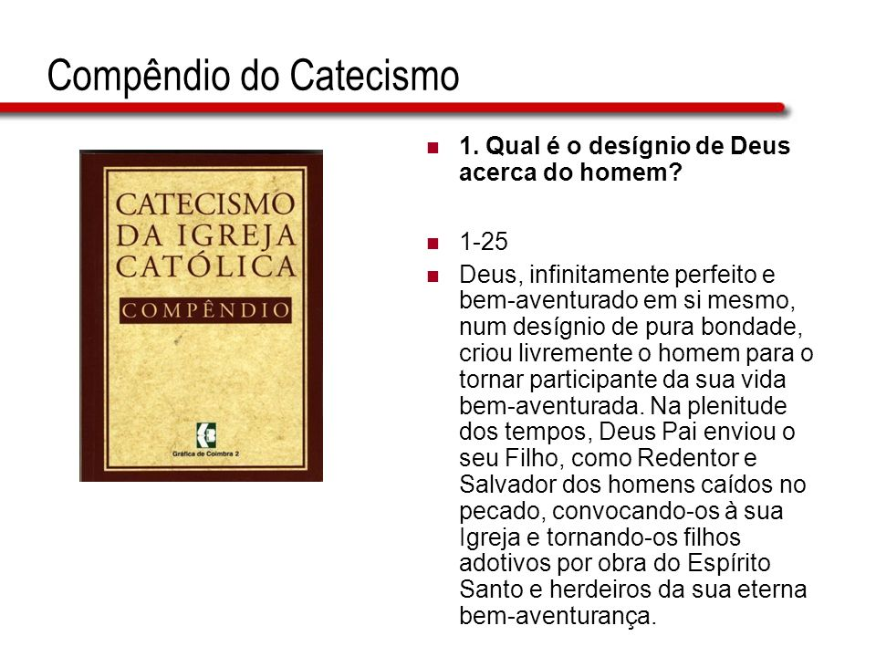 Compêndio do Catecismo