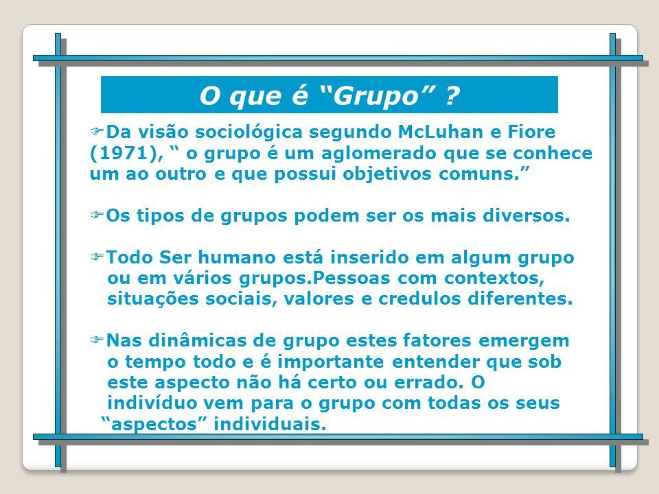 O que é Grupo