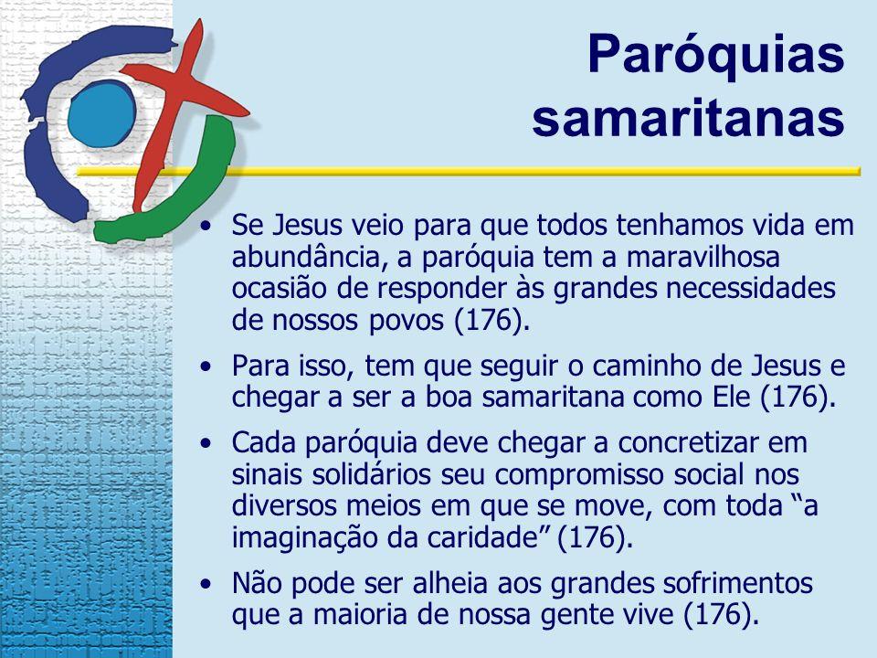 Paróquias samaritanas