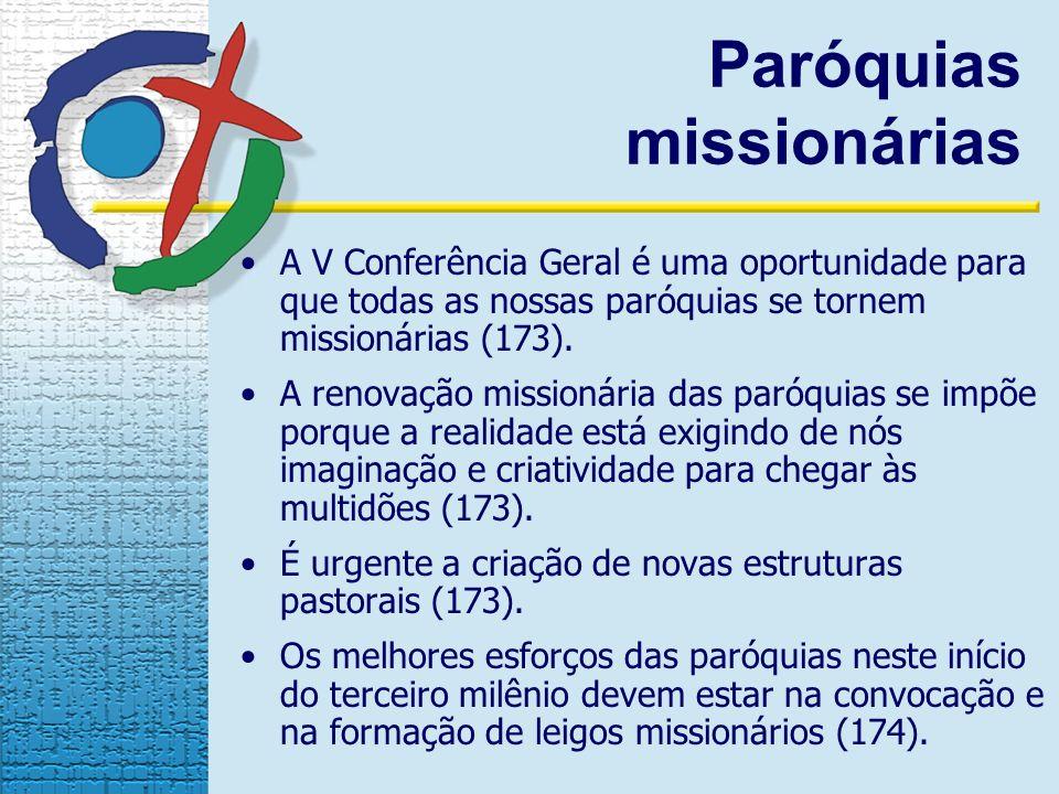 Paróquias missionárias