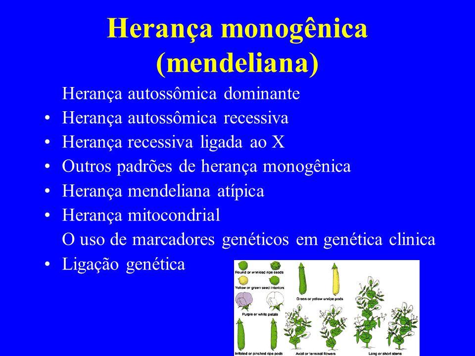 Herança monogênica (mendeliana)