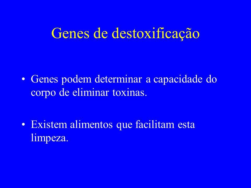 Genes de destoxificação