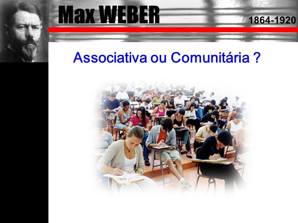 Associativa ou Comunitária