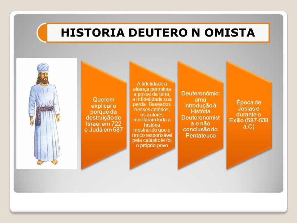HISTORIA DEUTERO N OMISTA