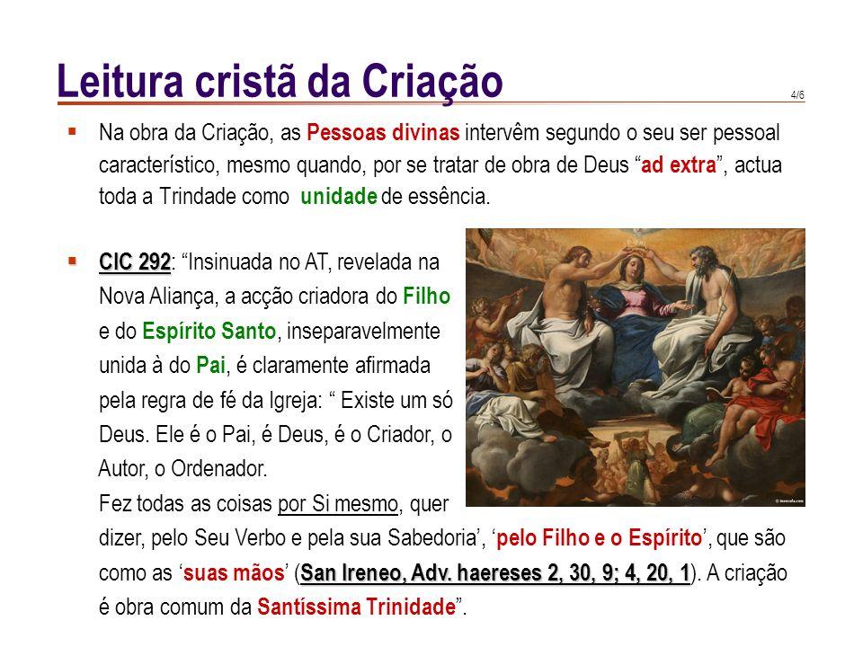Leitura cristã da Criação