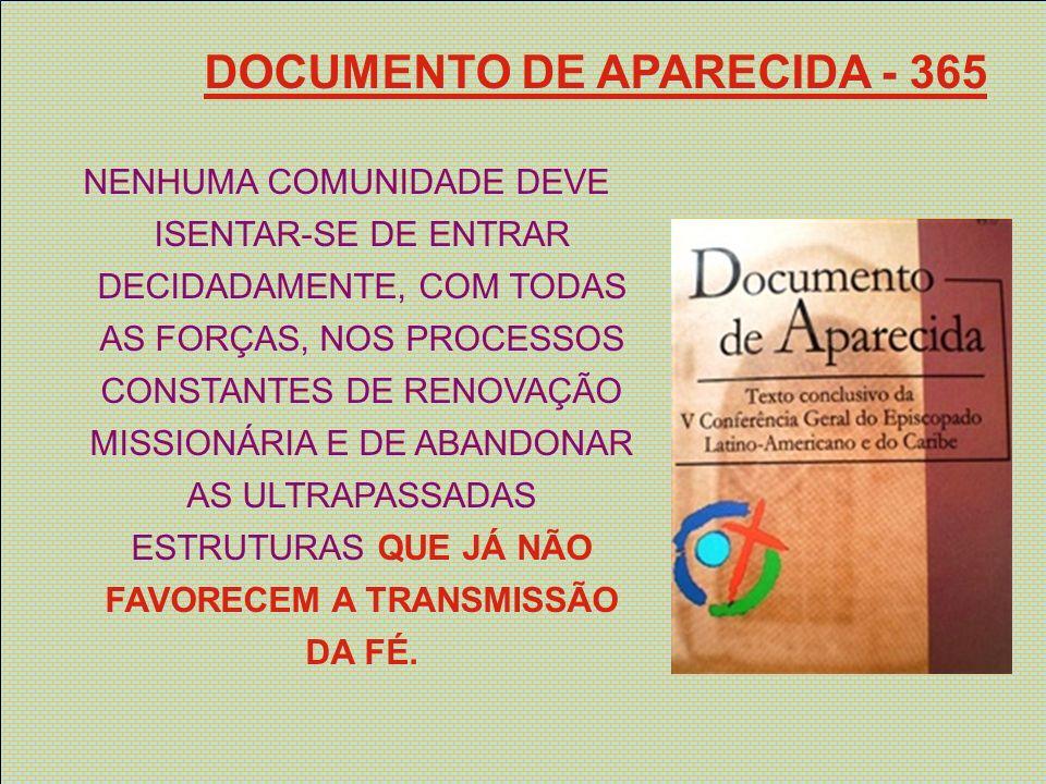 DOCUMENTO DE APARECIDA - 365