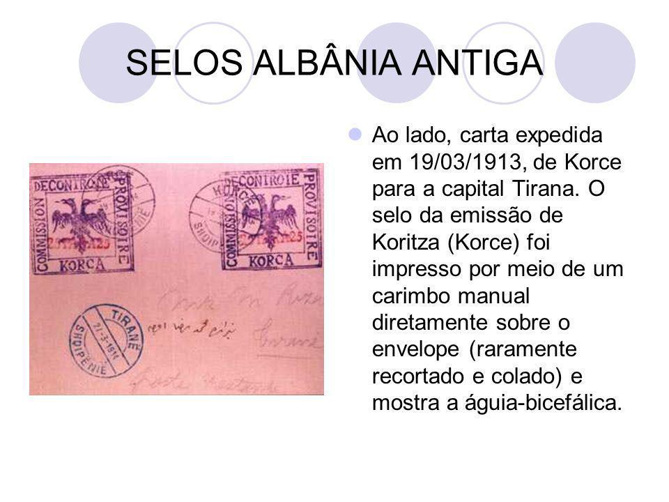 SELOS ALBÂNIA ANTIGA