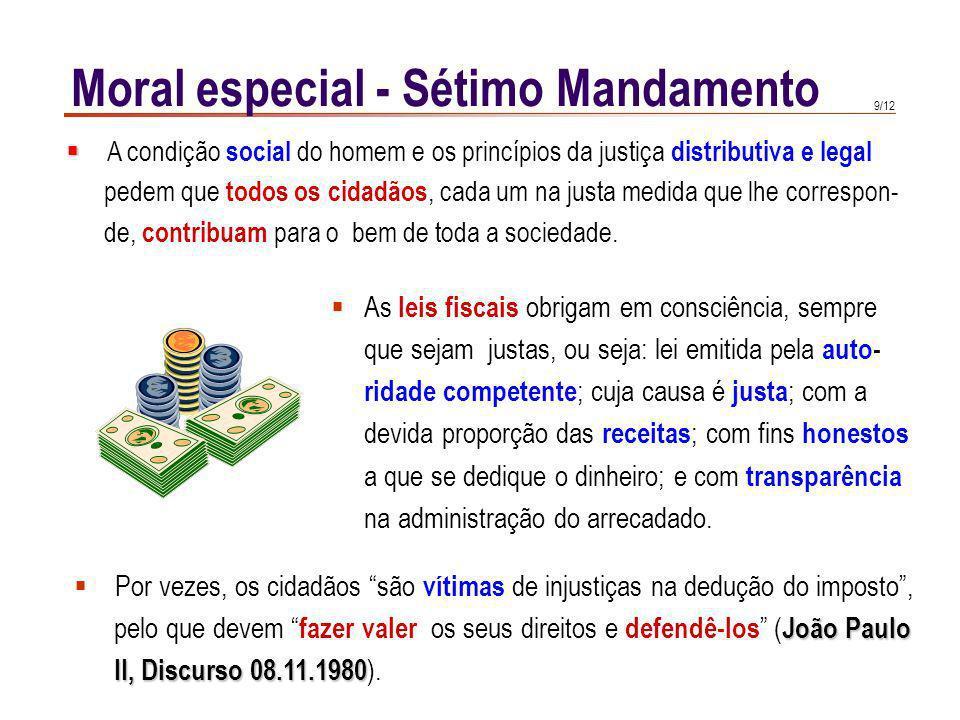Moral especial - Sétimo Mandamento
