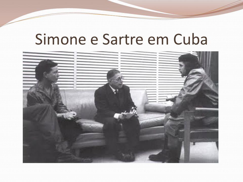 Simone e Sartre em Cuba
