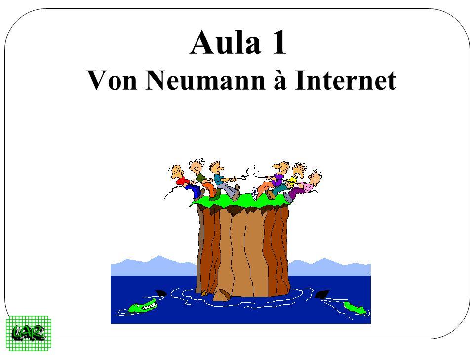 Aula 1 Von Neumann à Internet