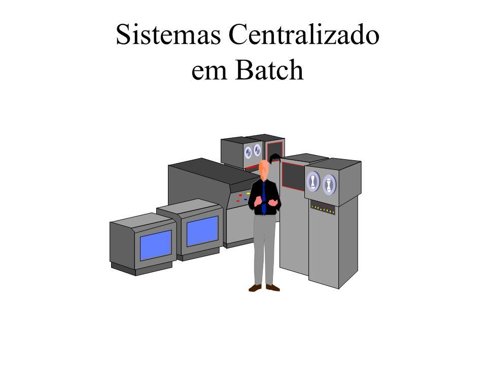 Sistemas Centralizado em Batch