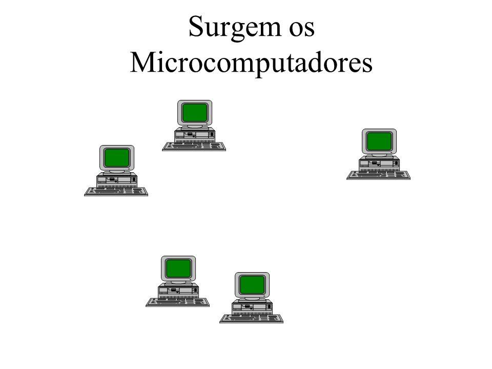Surgem os Microcomputadores