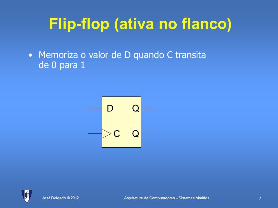 Flip-flop (ativa no flanco)