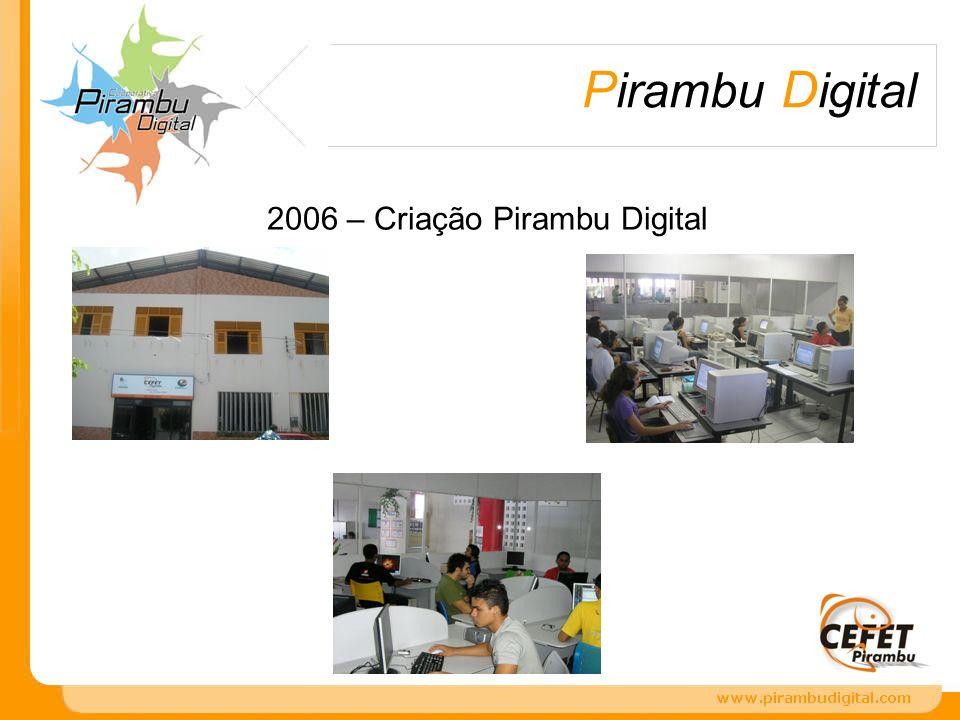 2006 – Criação Pirambu Digital