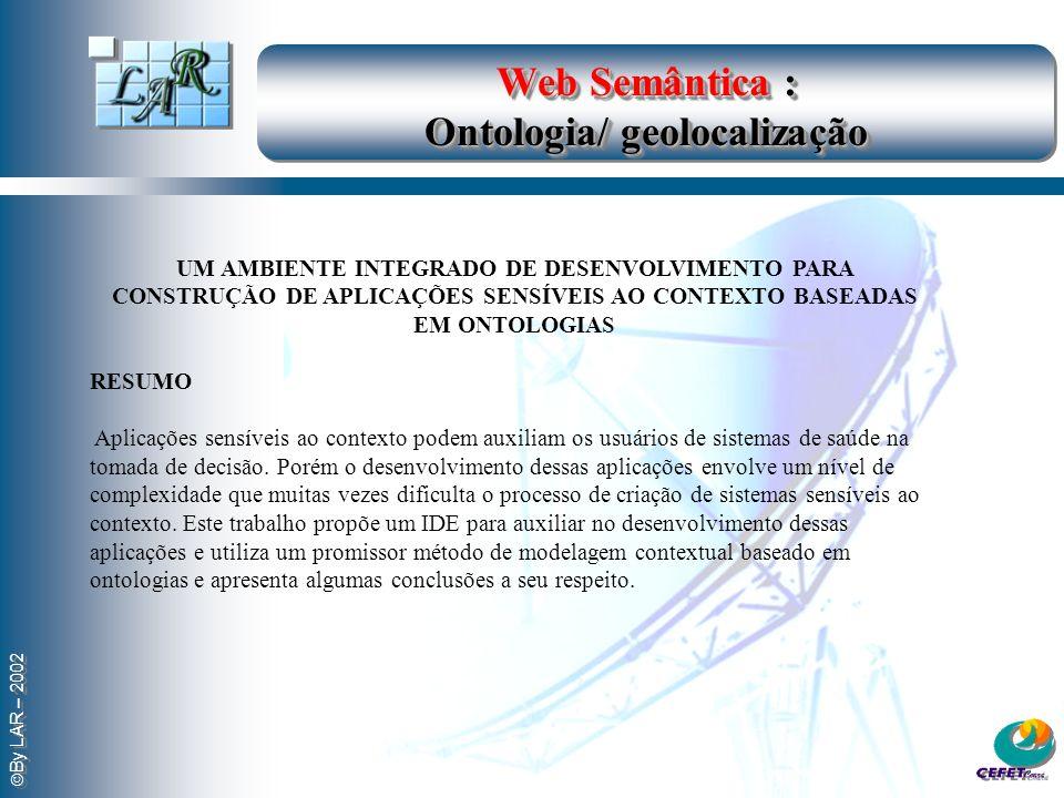 Web Semântica : Ontologia/ geolocalização