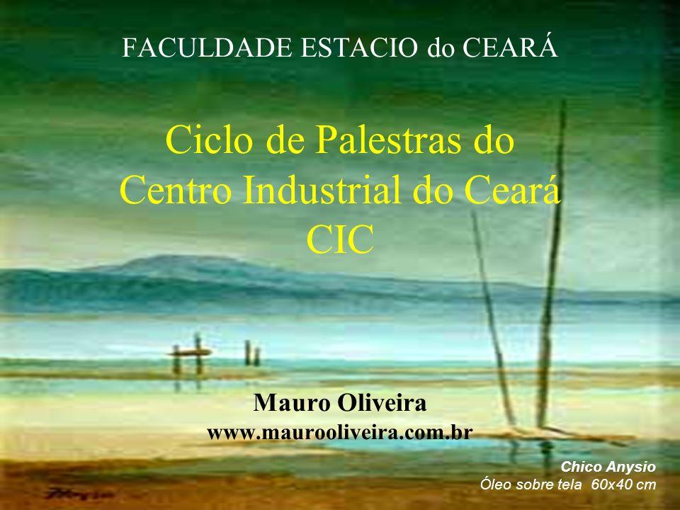 FACULDADE ESTACIO do CEARÁ Ciclo de Palestras do Centro Industrial do Ceará CIC Mauro Oliveira www.maurooliveira.com.br
