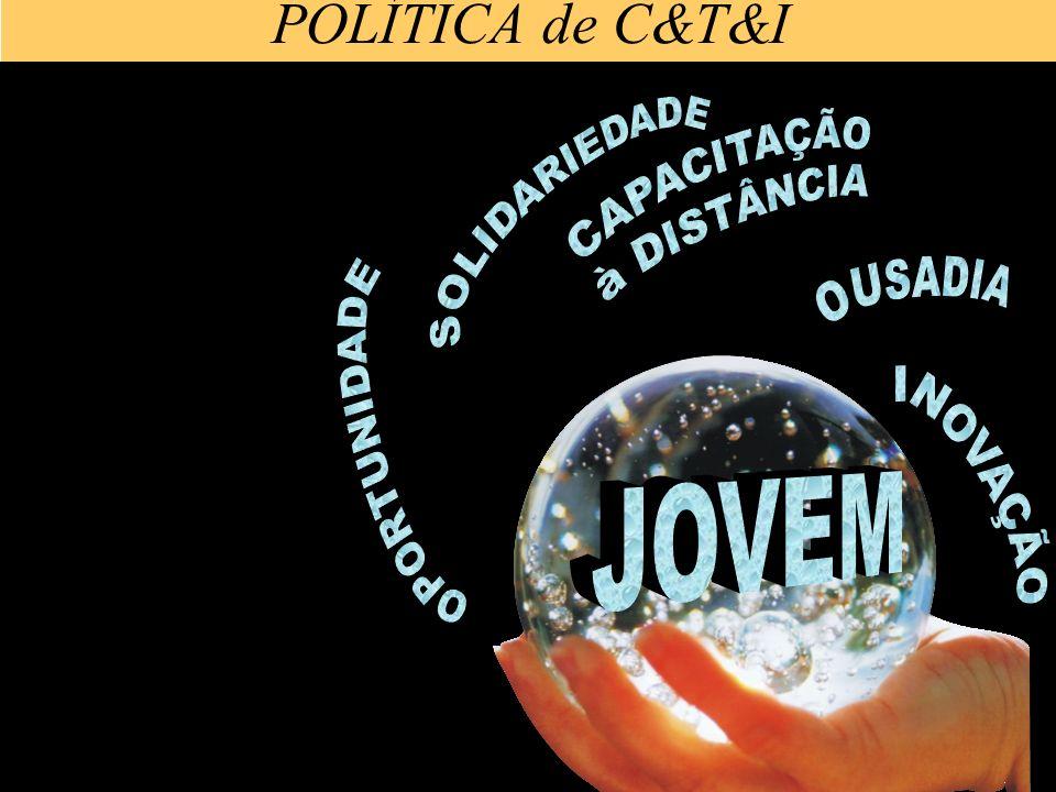 POLÍTICA de C&T&I SOLIDARIEDADE CAPACITAÇÃO à DISTÂNCIA OPORTUNIDADE