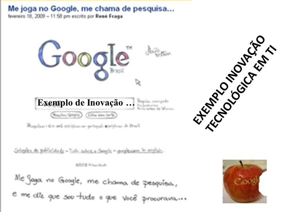 EXEMPLO INOVAÇÃO TECNOLÓGICA EM TI